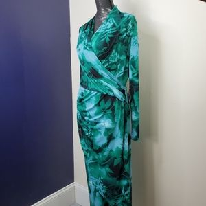 NEW Adrianna Papell Free Spirit Wrap Dress